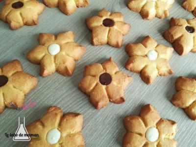 biscuits fleurs