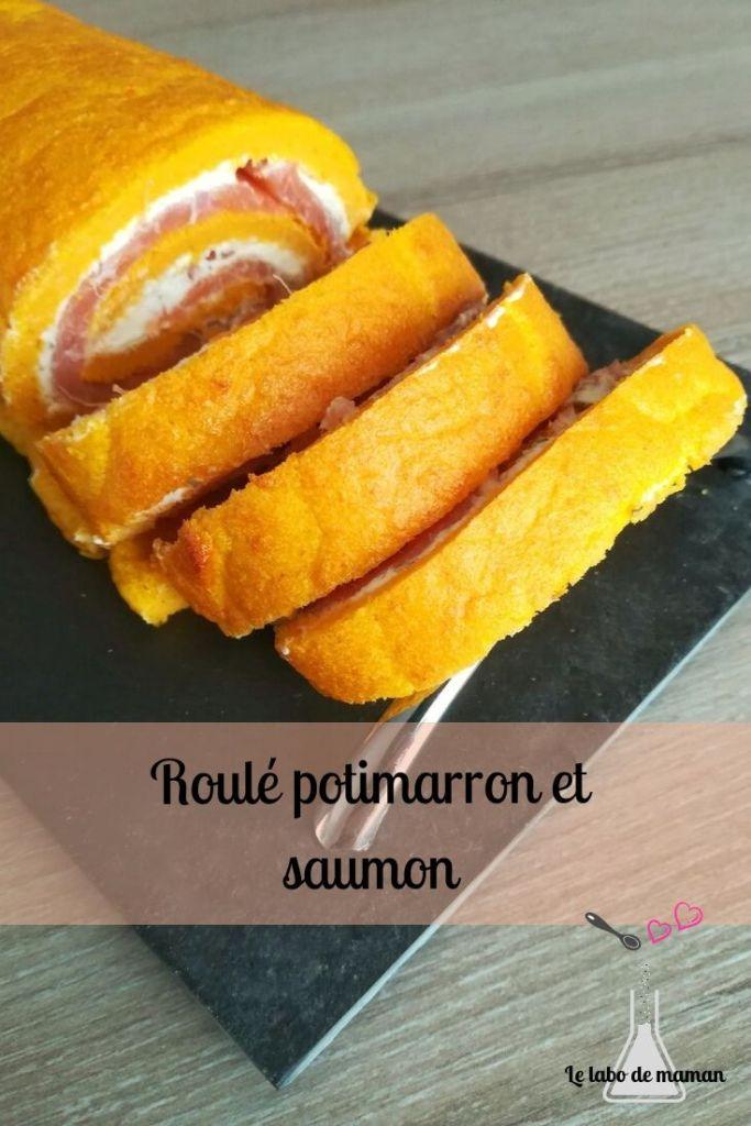 roulé-saumon-recette faicile - entrée - potimarron-fromage-companion-entrée-automne-orange-